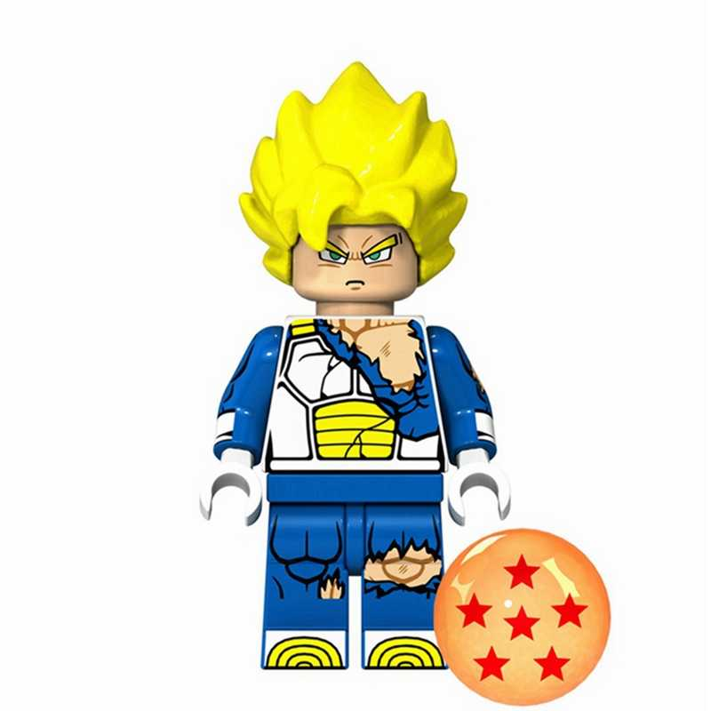 דרקון כדור דמויות Z בן Gohan גוקו Vegeta סלולרי סופר Saiyans Krillin גזעי Cartoon אנימה בניין בלוקים צעצועים לילדים