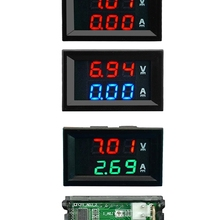 Detector Current-Meter-Tester Panel-Amp Digital-Voltmeter Led-Display Voltage Mini 100v 10a