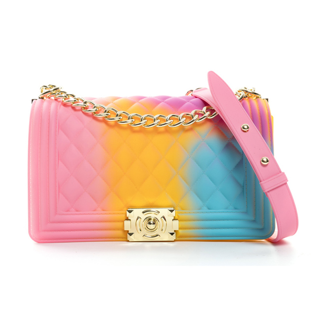 Gw квадратные сумочки цветные Фиолетовые женские сумки на плечо