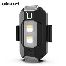 CZ ulanzi DR 02 Mini Drone światło stroboskopowe 3 światła kolor 9 tryb Lignting lekki + bateria antykolizyjna dla Dji MAVIC Mini Pro