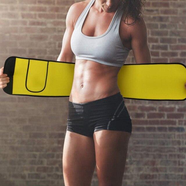 2020 New Women Waist Trainer Neoprene Belt Weight Loss Cincher Body Shaper Tummy Control Strap Slimming Sweat Fat Burning Girdle 2