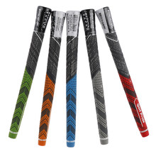 Anti-skid Shock-absorbing 5 Colors By Your Choice Golf Grips Wear-resisting Golf Grips Clubs Grip Putter Grips Rubber(China)