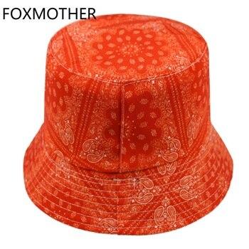 FOXMOTHER-gorros de pesca de cachemir para hombre, gorros de pescador, gorros de estilo Hip Hop, Color negro y rojo, para exteriores