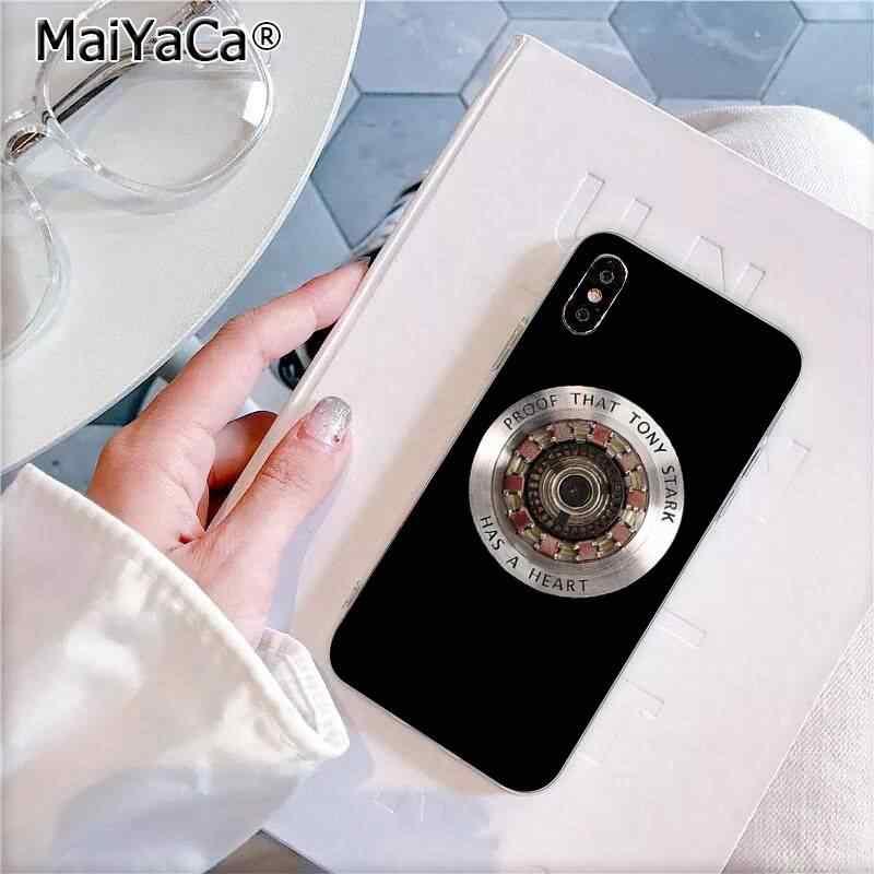 MaiYaCa マーベルアイアンマン私はあなた 3000 カスタム写真ソフトフォンケースの 11 プロ XS 最大 8 7 6 6S プラス X 5 5S 、 SE XR カバー
