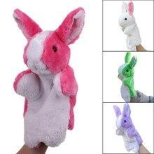 Hand Puppets For Kids Kawaii Cartoon Animal Doll Kids Glove Hand Puppet Rabbit Plush Bunny Finger Toys Children Birthday Gifts