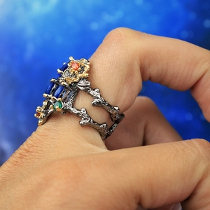 Image 3 - DreamCarnival 1989 Gorgeous Women Ring Infinity Color Stone Vintage Jewelry Chic Fashion Anniversary Wife Gift Must Have WA11672