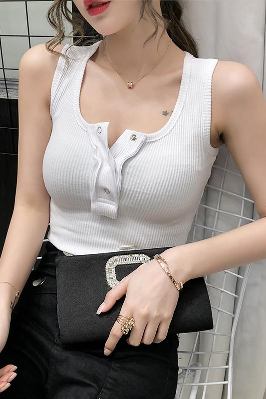 COIGARSAM Sexy blouse women New Summer Spring Spaghetti Strap blusas womens tops and blouses Gray White Black 239