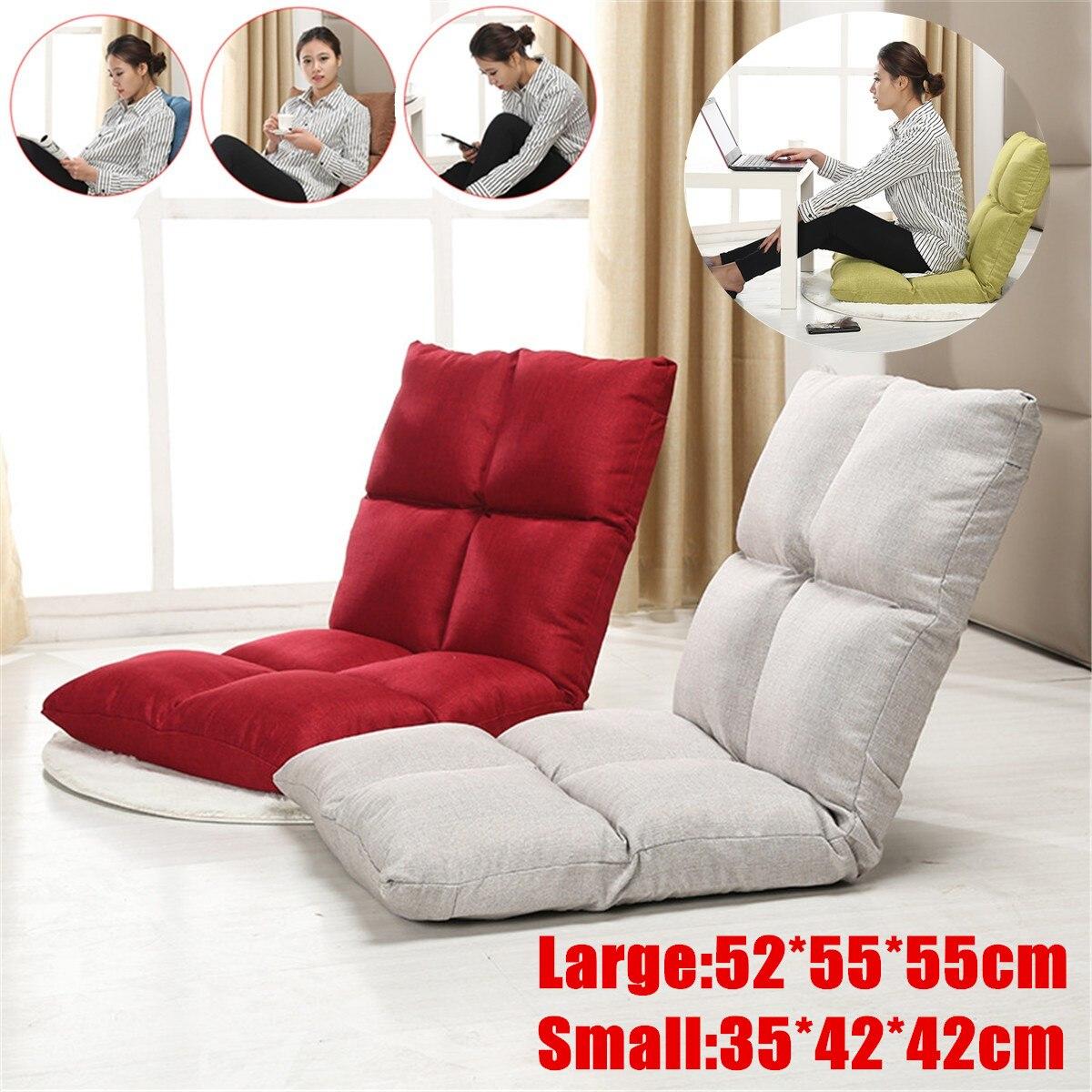 Grand petit canapés paresseux Tatami lit pliant siège arrière pouf canapé Tatami salon chambre petit lit