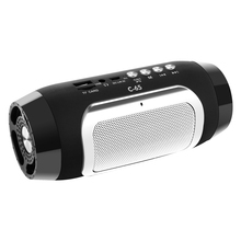 купить HIFI Portable wireless Bluetooth Speaker Stereo Soundbar TF FM Radio Music Subwoofer Column Speakers for Computer Phones дешево
