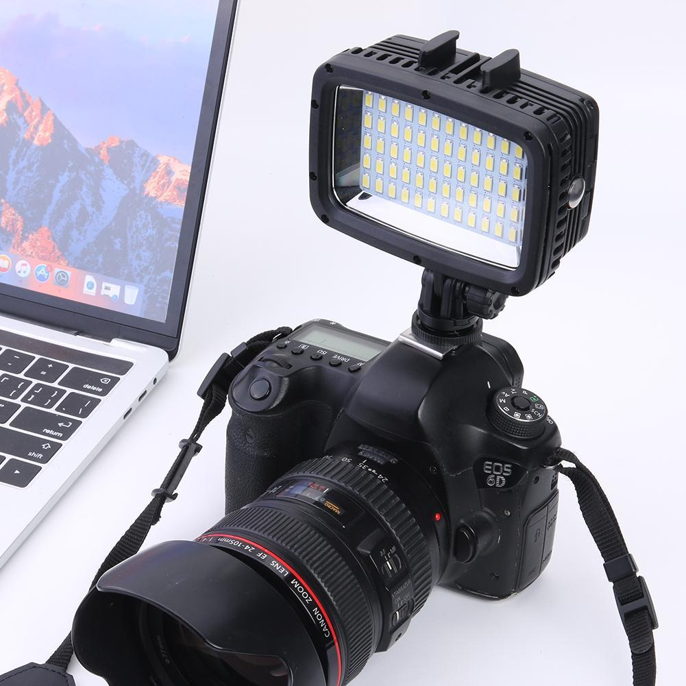 preenchimento de vídeo 1800lm fotografia lâmpada mergulho
