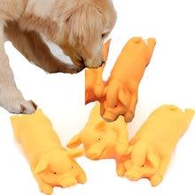 Детские Жевательные игрушки для собак чистящие зубы милая свинья