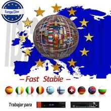 Лучшая CCcam Cline панель управления с Oscam Cline Испания для спутникового ТВ приемник GTmedia V8 Nova Freesat V7 Европа Cccam