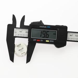 Image 5 - 100Pcs 20mm 직경 작은 라운드 로커 스위치 블랙 미니 라운드 블랙 화이트 레드 2 핀 ON OFF 로커 스위치