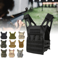 цена на JPC Molle Vest Tactical Gear Hunting Airsoft Body Armor Military Army Combat Protective Plate Carrier Vest