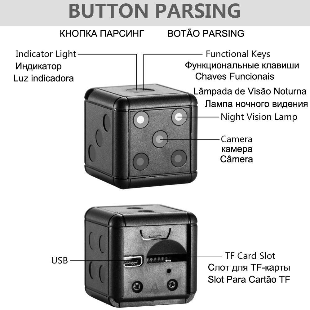Купить sq16 sq 16 ночного видения маленькая секретная микро видеокамера