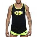 Рубашка для фитнеса и бега, модная быстросохнущая спортивная одежда без рукавов, дышащая спортивная одежда в европейском и американском ст...