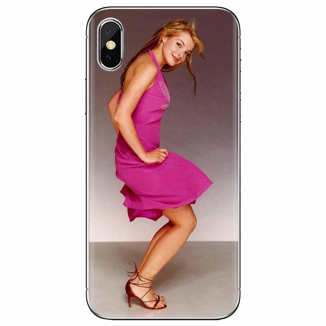Silikonowa skóra pokrywa dla Huawei Mate Honor 4C 5C 5X 6X 7 7A 7C 8 9 10 8C 8X 20 Lite Pro Yvonne Catterfeld niemieckiej piosenkarki