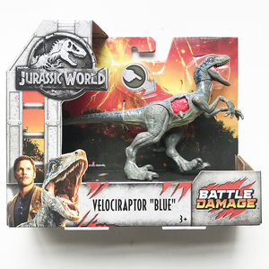 Image 4 - 16 20cm Original Jurassic World Toys Attack Pack Velociraptor Triceratops Dragon PVC Action Figure Model Dolls Toys For Children