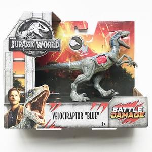 Image 4 - 16 20cm oryginalny świat jurajski zabawki atak paczka Velociraptor Triceratops smok pcv Model postaci lalki zabawki dla dzieci