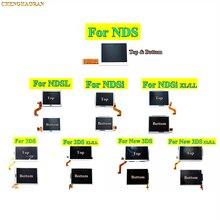 1x Ban Đầu Cao Mới Trên Đáy Dưới Màn Hình LCD Hiển Thị Màn Hình Thay Thế Cho Máy Chơi Game Nintendo DS Lite Cho NDSL NDSi XL LL mới 3DS XL LL