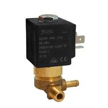 """JYZ-5 Jiayin 2/2 способ AC 230V 50Hz G1/"""" Нормально закрытый электромагнитный клапан для потока газа воды"""