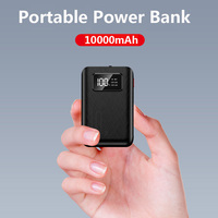 Per xiaomi Power Bank 10000 mAh cellulare Carregador Portatil 5V 2A caricabatterie rapido Mini Power Bank con torcia a LED