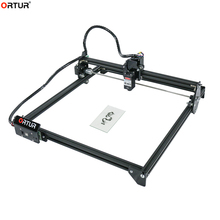 2020 New Ortur Laser Engraving Machine 32-bit Mainboard CNC Router Engraver for Plastic Wood Acrylic PVC PCB Metal Stone Leather cnc 6090 1500w 3 axis cnc router engraver for metal wood pcb acrylic