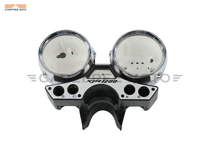 Image 1 - Chrome Motorcycle Speedometer Cover Moto Speed Gauge Shell Case for Yamaha XJR1200 XJR 1200 1993 1998