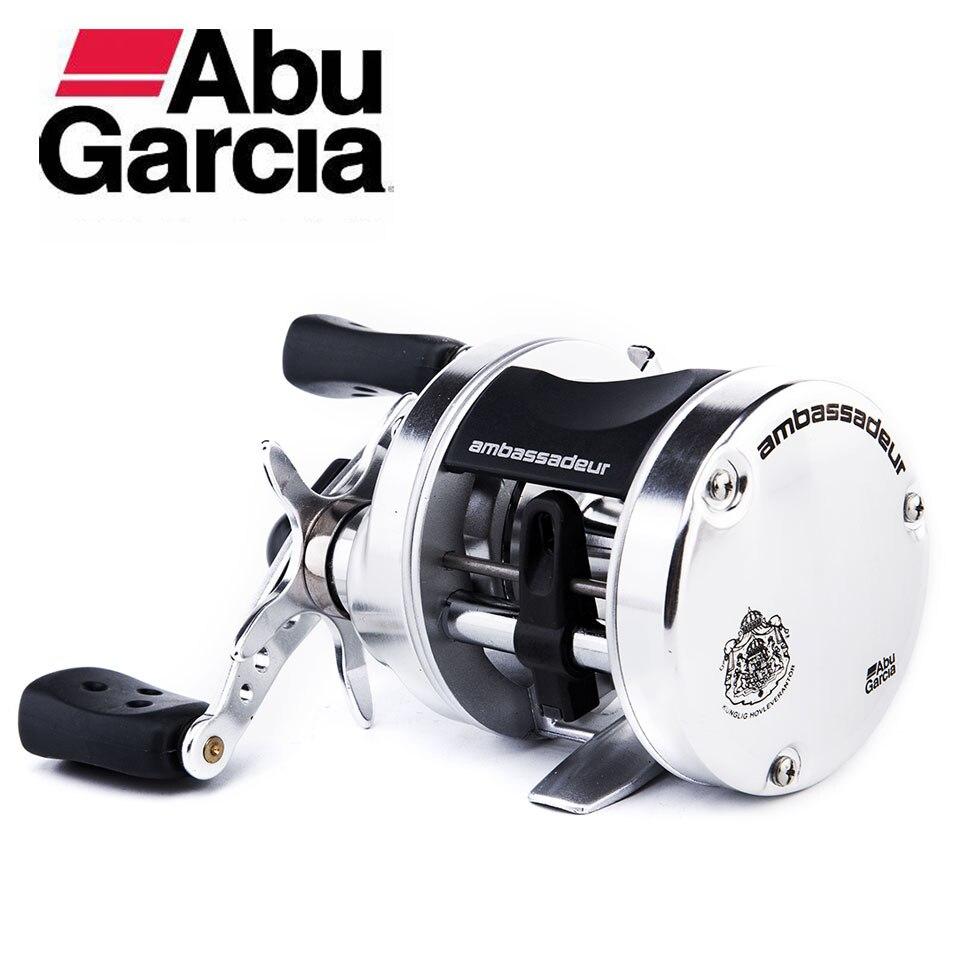 Abu Garcia Ambassadeur S Round Reel 5600/5601 AMBS 5.1:1 Ratio 11.0LB/5.0KG Max Drag 2 Bearing Centrifugal Braking System