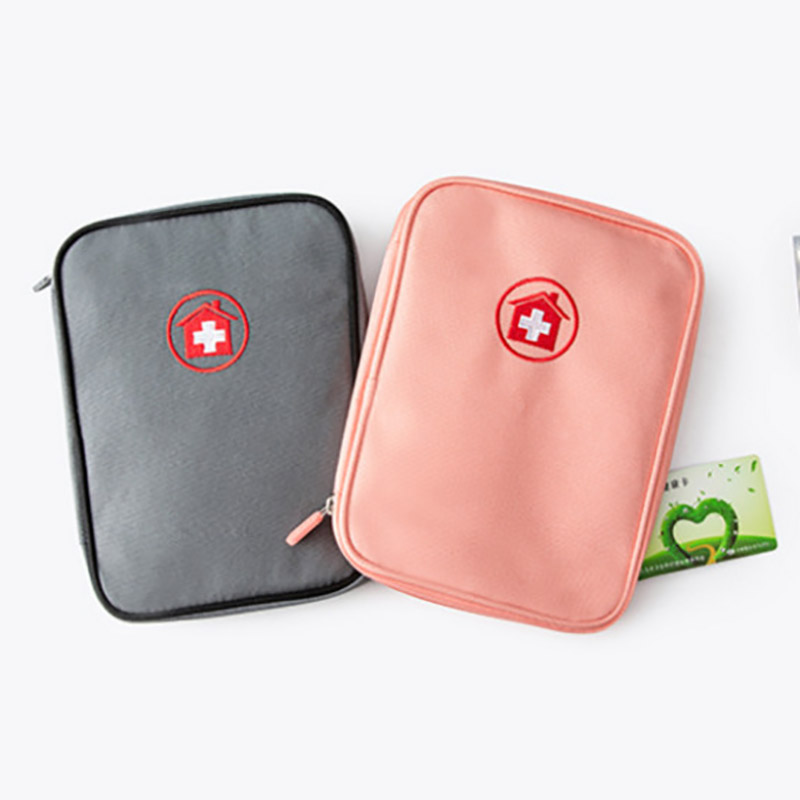 First Aid Kit Medicine Organizer Survival Medical First Aid Kit Empty Emergency Portable Travel Outdoor Camping Big Capacity