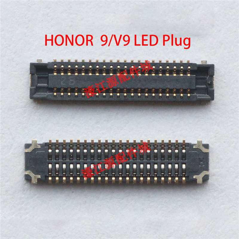 LCD Display FPC Connector Plug MotherBoard Pin For Huawei Honor 9 STF-L09 Honor 8 Pro