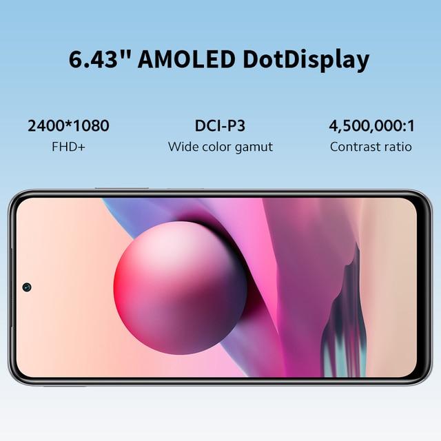 "Global Version Xiaomi Redmi Note 10S Smartphone 6.43"" AMOLED DotDisplay 64MP Quad Camera 5000mAh Helio G95 33W NO NFC 5"
