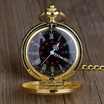 Gold Pocket Watch Fashion