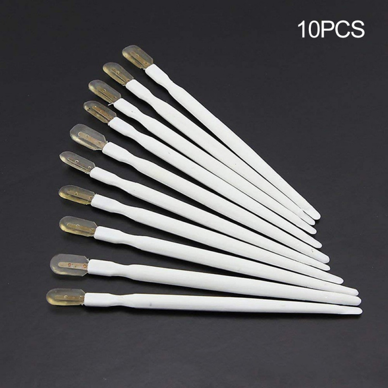 10PCS/SET Professional Bees Grafting Royal Jelly Squeegee Pen Beekeeping Tools Equipment Supplies