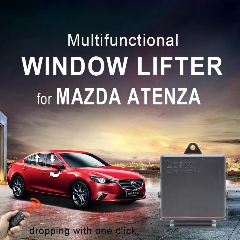 Más cerca de la ventana para Mazda ATENZA ventana rollo más levantador de multi-función de auto espejo carpeta interruptor de control remoto