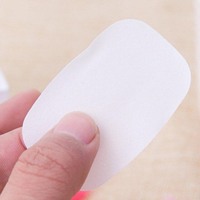 20 Box Travel Portable Disposable Boxed Soap Paper Make Foaming Scented Bath Washing Hands Mini Paper Soap Random Color 5