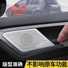 Dla Volkswagen Golf 7 / 7.5 MK7 specjalne drzwi pokrywa róg montaż r linia wnętrze dźwięku dekoracji pokrywa ochronna akcesoria