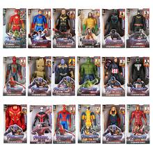 12 #8221 30cm Marvel Avengers Venom Batman Flash Superman Spiderman Thanos Hulk Iron Man Thor Groot Action figurki zabawki dla Kid prezenty tanie tanio Disney Puppets Unisex None Zapas rzeczy Model Wyroby gotowe 1 60 Second edition 3 lat Urządzeń peryferyjnych Film i telewizja