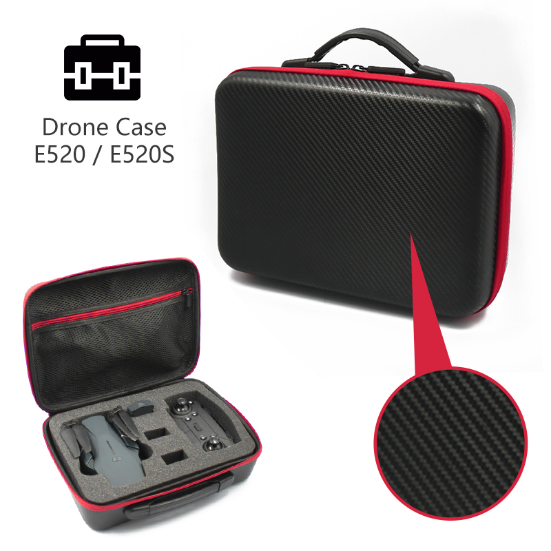Original E520 E520S Storage Bag Waterproof Portable Handbag Carrying Case Box RC Drone Quadcopter Spare Parts image