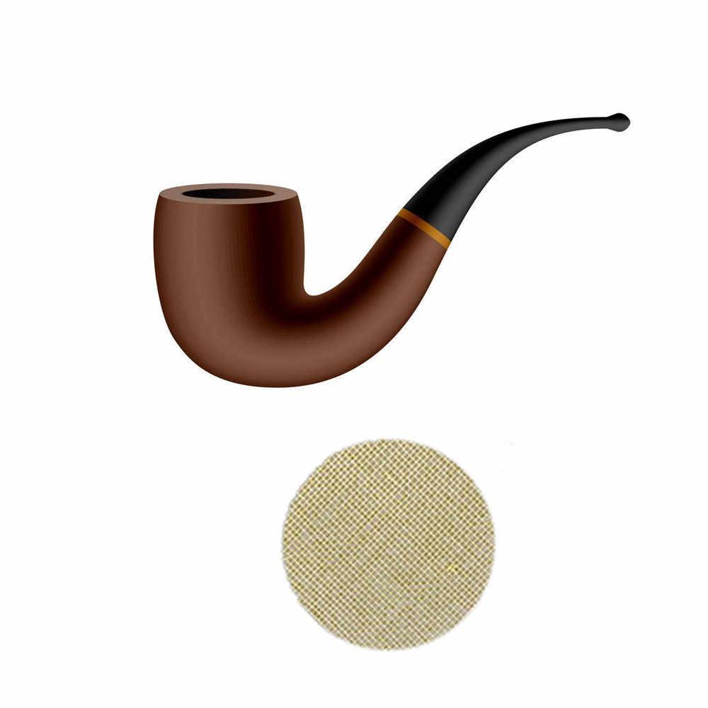 50pcs Multifunctional ท่อน้ำ Hookah ตัวกรองโลหะควันท่อหน้าจอผ้ากันน้ำสูบบุหรี่ยาสูบ Hookah ตัวกรอง