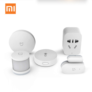 Image 3 - Original Xiaomi Mijiart Home Kit Infrared Human Body Sensor New Gateway Door Window Sensor Wireless Switch ZigBee Socket 5 in 1