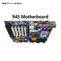 Getmycom Original 945 industrial ddr2 motherboard socket 775 pin motherboard with 2*ISA and 5*PCI Slots support Intel chipset