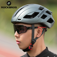 Bicycle-Helmet Road-Bike ROCKBROS Magnetic-Type-Cover Safety MTB Electric