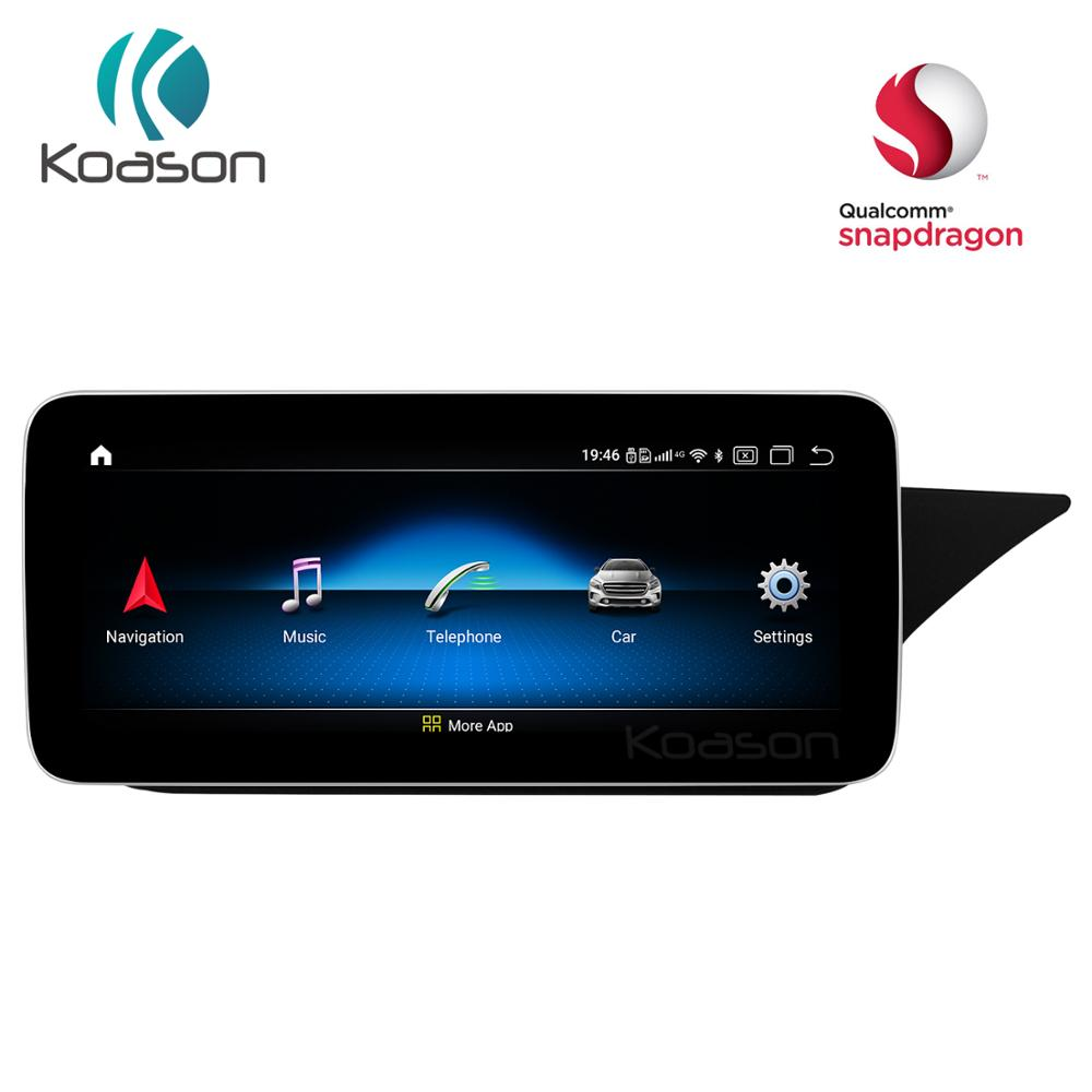10.25 inch Screen Qualcomm Car GPS Navigation for <font><b>Mercedes</b></font> Benz For E class <font><b>W212</b></font> S212 2009-2017 RHD Vehicle <font><b>Multimedia</b></font> Player image