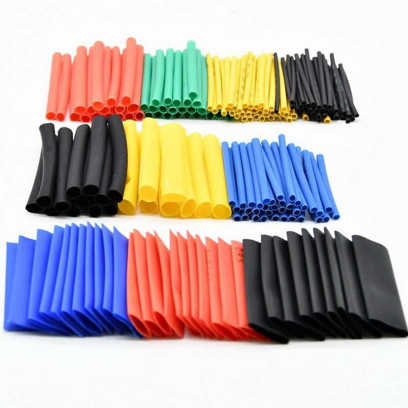 780pcs 2:1 Heat Shrinkable Tube  Polyolefin Insulated Sleeve Tubing Set