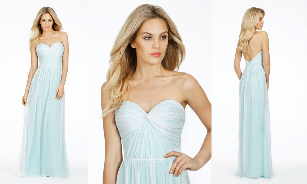 Free Shipping 2015 Fashion Chiffon Long Evening Dresses Sexy Sweetheart Backless Top Quality Custom Made A-line Party Prom Gown