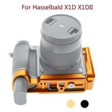 Hasselbald x1d 브래킷 용 peipro l 유형 퀵 릴리스 hasselbald x1dii 카메라 용 삼각대 플레이트베이스 그립 핸들 extensionable