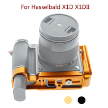 PEIPRO L סוג שחרור מהיר לhasselbald X1D סוגר חצובה צלחת בסיס גריפ ידית לhasselbald X1DII מצלמה Extensionable