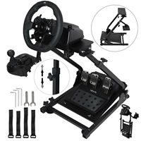 Racing Simulator Wheel Stand G25 G27 G29 G920 T500RS rubber grips Gear Shifter