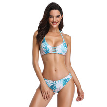 Swimwear Women Bikini Women's Double-Sided Split Type Bikini Sexy Split Type Swimsuit Nylon Bathing Suit Women